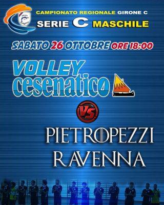 """✅✅""""C"""" SIAMO✅✅ Prima gara casalinga della nuova Serie C del Volley Cesenatico. Vi aspettiamo sabato pomerigiio al PalaMadonnina.  #seriec #lapallavoloinbuonemani #viaspettiamoalpeep"""