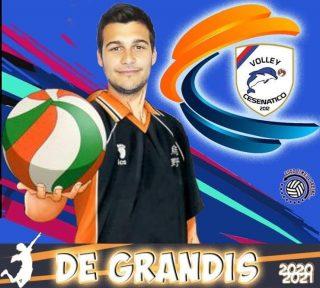 📯 SERIE C 2020-2021 📯  Un'altra conferma per questa stagione   # 11 DANIELE DE GRANDIS - palleggiatore  #volleycesenatico #lapallavoloinbuonemani #goodtimesloading