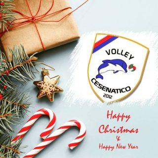 Un augurio di Buon Natale e Felice Anno Nuovo da tutto il Volley Cesenatico 🎄✨