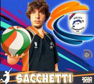 📯 SERIE C 2020-2021 📯  Arriva un'altra conferma in casa Volley Cesenatico   # 4 LUCA SACCHETTI - banda  #volleycesenatico #lapallavoloinbuonemani #goodtimesloading