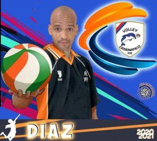 📯 SERIE C 2020-2021 📯  Arriva un'altra conferma in casa Volley Cesenatico   # 7 MAYKEL DIAZ - centrale  #volleycesenatico #lapallavoloinbuonemani #goodtimesloading