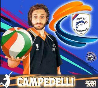 📯 SERIE C 2020-2021 📯  Arriva un'altra conferma in casa Volley Cesenatico   # 1 LUCA CAMPEDELLI - banda  #volleycesenatico #lapallavoloinbuonemani #goodtimesloading