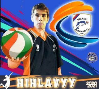 📯 SERIE C 2020-2021 📯  Arriva un'altra conferma in casa Volley Cesenatico   # IVAN HIHLAVYY - opposto  #volleycesenatico #lapallavoloinbuonemani #goodtimesloading