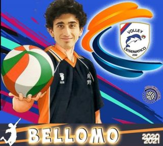 📯 SERIE C 2020-2021 📯  Un nuovo arrivo in casa Volley Cesenatico    MATTEO BELLOMO - opposto  #volleycesenatico #lapallavoloinbuonemani #goodtimesloading